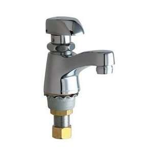 Chicago Faucets 335 E12COLDCP Single Faucet Metering