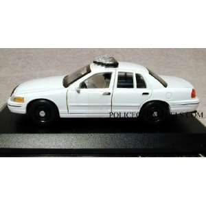 Crown Vic Police Car   Blank White   Case of 48 Cars Toys & Games
