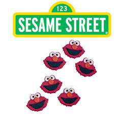 Wilton ELMO EDIBLE ICING DECORATIONS Sesame Street Cake