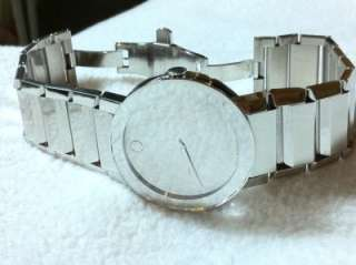 MOVADO SAPPHIRE  MIRROR FACE  FULL SIZE VERSION  40mm BIG FACE  84 G1