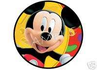 Edible Cake Image   Mickey Mouse Clubhouse   Face   Cir