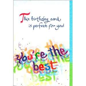 Blue Mountain Arts Birthday Greeting Card Perfect For You