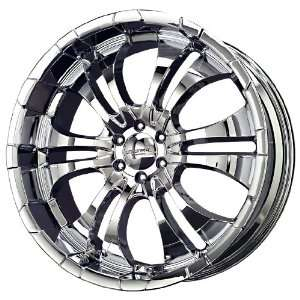 Liquid Metal Turbine Series Chrome Wheel (22x9.5/6x135mm