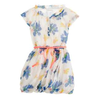 Girls organdy lark dress in paintbox floral   party   Girls dresses