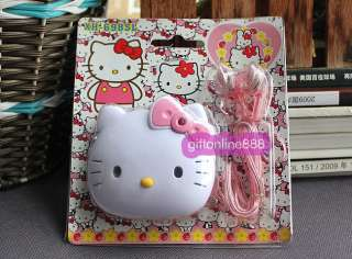 Stock Hello kitty AM/FM portable mini radio light