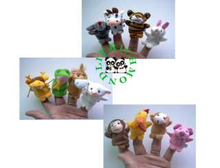 Package only include 12 pcs animals finger puppets,Same as pic show