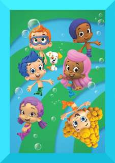 Bubble Guppies edible cake image topper  1/4 sheet