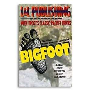 Trost Packet Tricks   Bigfoot   Card Magic Trick Toys & Games