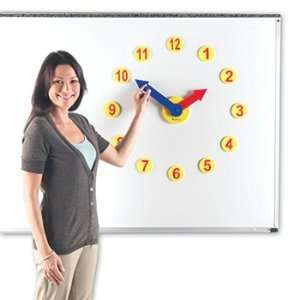 4 Pack LEARNING RESOURCES MAGNETIC TIME ACTIVITY SET