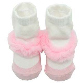 Baby Toddler Kids Girls Pink Cotton Colorful Socks 0 6 Months