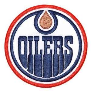NHL Edmonton Oilers Embroidered Team Logo Collectible