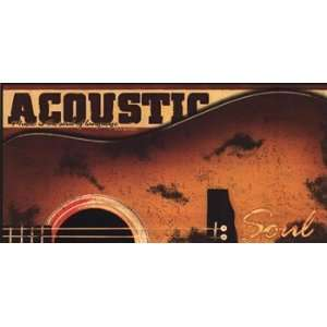 Acoustic   Poster by John Jones (20x10)