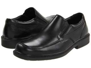 HUSH PUPPIES LEVERAGE Black Leather Shoes US Mens Sizes NWT
