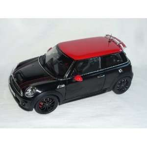 MINI COOPER S JOHN COOPER WORKS TUNING SCHWARZ ROT DACH AB 2006 2