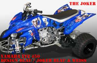 INVISION DEKOR KIT YAMAHA YFZ 450 JOKER DECALS, DECOR B