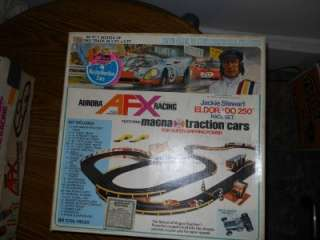 SLOT CARS MODEL MOTORING AURORA AFX SLOT CAR SETS LOT OF 4
