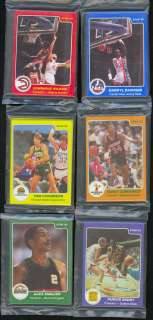 1984 85 Star Co. Basketball Nearly Complete Set of Unopened Team Bags