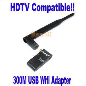 EDUP EP MS8512 300M USB Wireless WIFI Adapter Antenna for HDTV LCD HDD