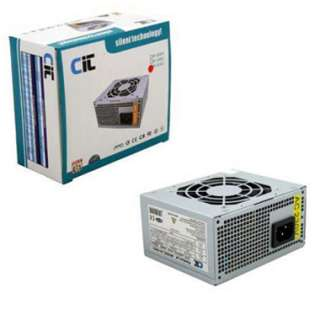 CT 500 WATT SILENT MICRO ATX POWER SUPPLY UNIT PSU 500W
