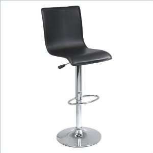 Winsome Spectrum High Back L Shape Air Lift Stool