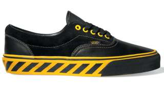 Vans Era Caution Black/Spectra Yellow Skate Shoes Trainers