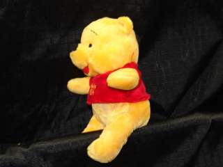 Plush Winnie Pooh Bear Disney Stuffed Animal 8 Lovey