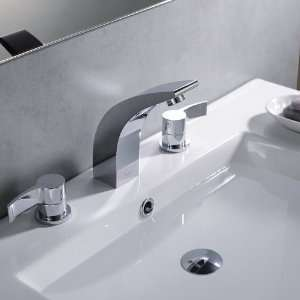 Kraus KEF 14703 PU11CH Illusio Double Handle Widespread Vessel Faucet