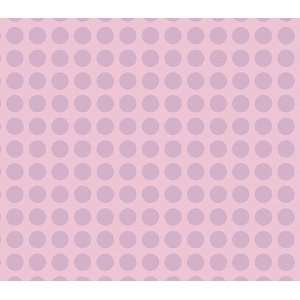 Pink and Purple Small Polka Dot Wallpaper Baby