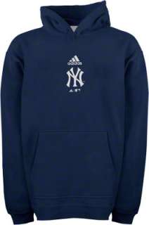New York Yankees Navy Adidas Team Logo Toddler Hooded Sweatshirt
