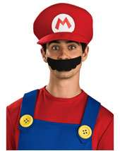 Super Mario on Costume Supercenter