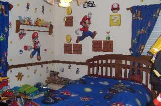 Super Mario Bros. Giant Wall Decals, 64101