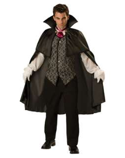 Adult Midnight Vampire Costume  Wholesale Vampire Halloween Costume