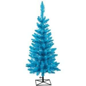36 Artificial Pencil Christmas Tree in Sky Blue