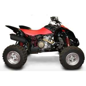 Honda TRX700XX Destroyer ATV Graphic Kit (Black/Red) (2008