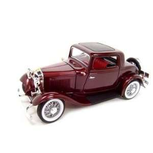1932 FORD 3 WINDOW COUPE 118 DIECAST MODEL