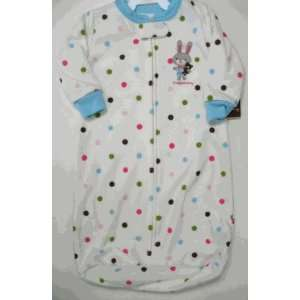 Carters Baby Girls Polka Dot Bunny L/S Polyester Microfleece Zippered