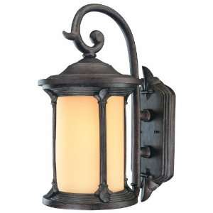 Energy Star Rated Fleur De Lis Outdoor Wall Lantern, Colonial Bronze