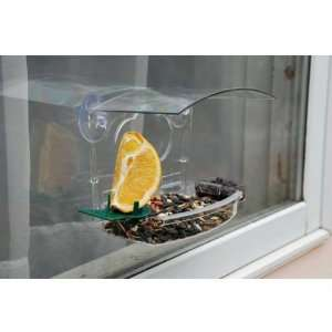 Window Treat Bird Feeder   Sticks to glass Surfaces