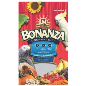 Bonanza Gourmet Diet Large Parrot Bird Food (4 lbs)