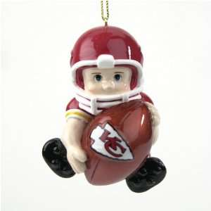 Pack of 8 NFL Kansas City Chiefs Lil Fan Football Player
