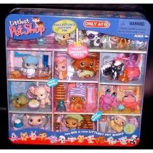 Littlest Pet Shop LPS Exclusive Collectors Edition Tin
