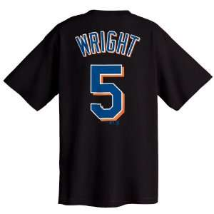 David Wright New York Mets Name and Number T Shirt Sports
