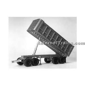 HO Scale 22 Tandem Axle Dump Trailer w/5Th Wheel Dolly Toys & Games