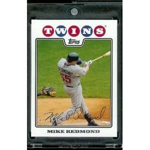 Twins   MLB Baseball Trading Card in a Protective Screw Down Display