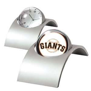 San Francisco Giants MLB Spinning Desk Clock  Sports