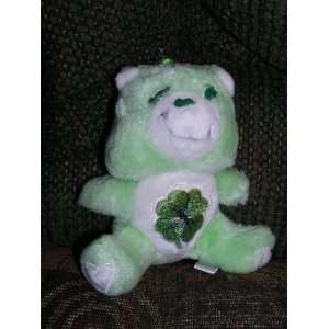 Vintage Care Bears Plush 6 Good Luck Bear from 1984 Toys & Games