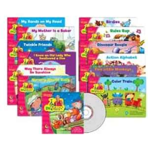 CREATIVE TEACHING PRESS DR JEAN VARIETY PACK WITH CD PREK