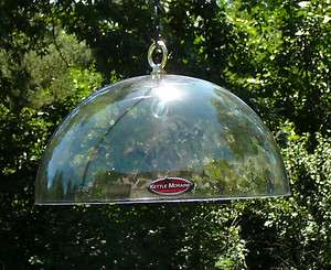 Squirrel Proof Any Bird Feeder 12 Hanging Protective Clear Poly Dome