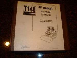 BOBCAT T140 SKID STEER TRACK LOADER SERVICE MANUAL