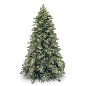 Frosted Colorado Spruce Full Pre lit Christmas Tree Christmas Decor
